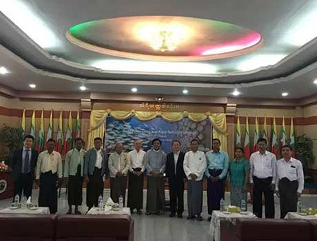 Dr. Zhang Song of Nutriera was invited to attend and give a presentation at the Myanmar Fisheries Seminar