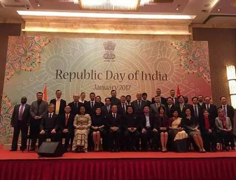 Nutriera was invited to attend the celebration of India Republic Day