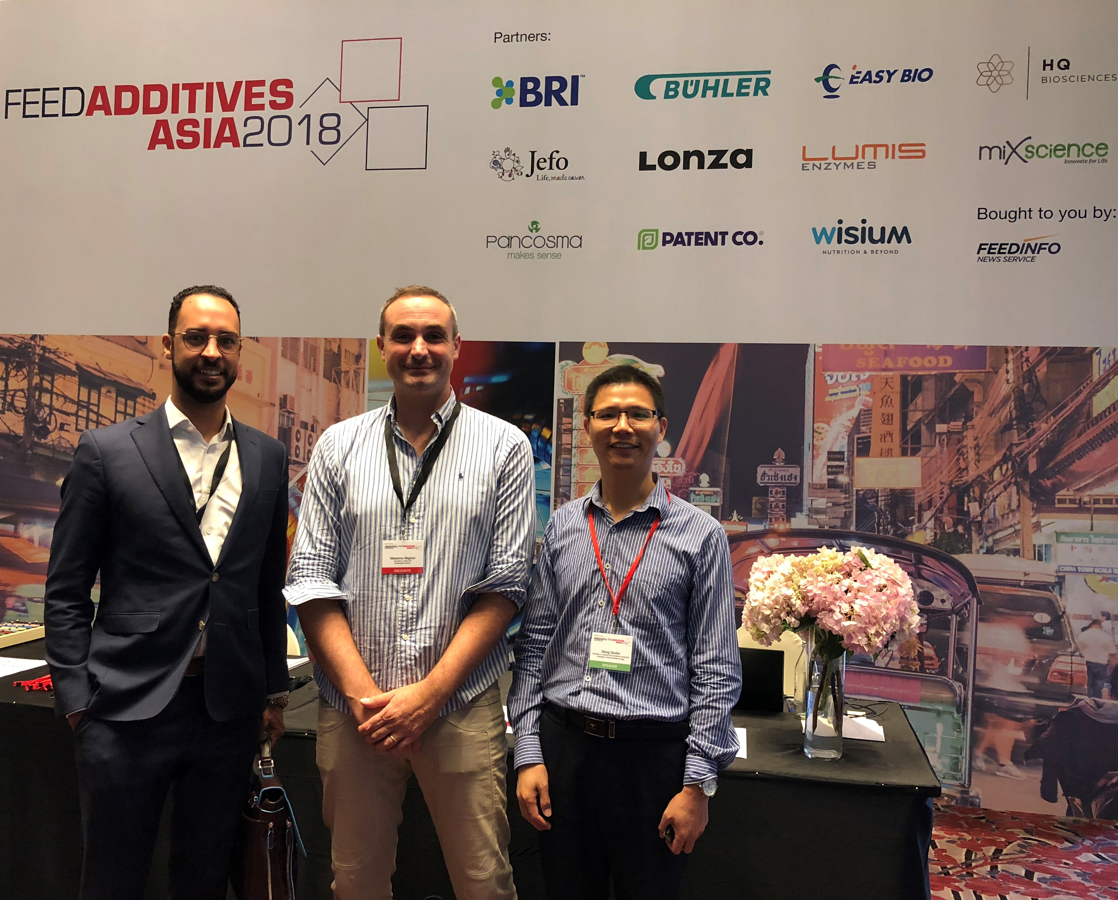 Nutriera's technical expert was invited to make a presentation in the FEED ADDITIVES ASIA 2018