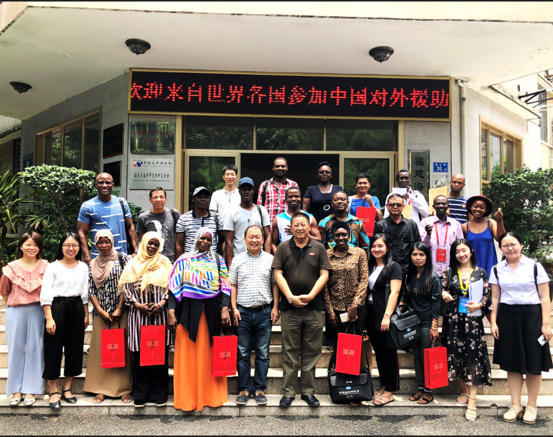 Nutriera Experts were invited to give lectures on China's Foreign Aid Training Project (Ocean Science Technology and Management)