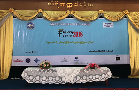 Nutriea Experts Were Invited to Myanmar Fishery Focus (MFF) 2018 and Gave A Keynote Presentation