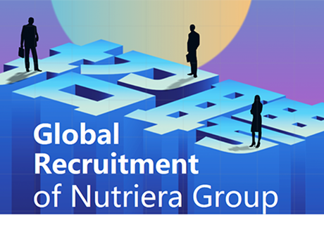 We are looking for you in 2019!  Global Recruitment of Nutriera Group