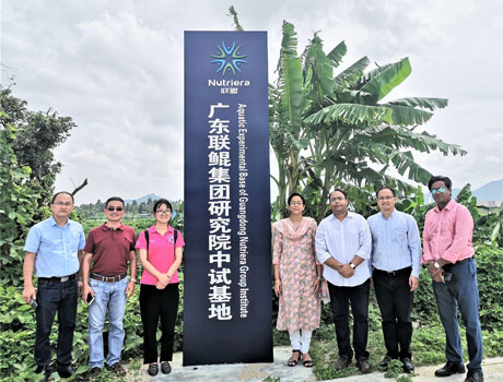 ​Mr. Sujit Ghosh, Consul General of India in Guangzhou visited Guangdong Nutriera Group