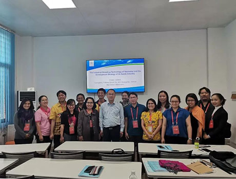 Nutriera Group experts were invited to give lectures for participants from China's Foreign Aid training project